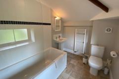 The family bathroom, opposite bedroom 4