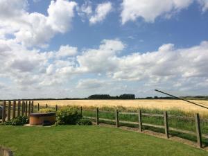 Barn garden & View
